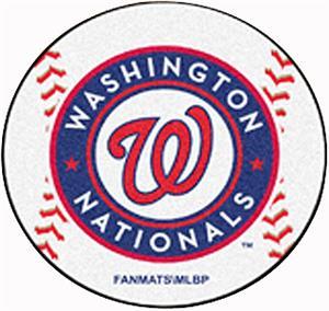 Fan Mats Washington Nationals Baseball Mat