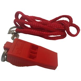 Pea-less Whistle & Matching Lanyard (in 3-Colors)