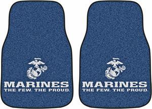 Fan Mats United States Marines Carpet Car Mat