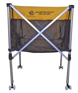 Folding VolleyBall & Basketball Cart