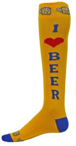 Red Lion I Love Beer Socks - Closeout