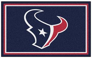 Fan Mats NFL Houston Texans 4x6 Rug