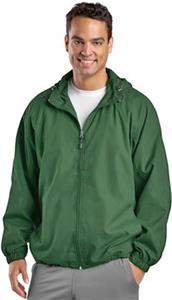 Sport-Tek Mens Hooded Raglan Jacket