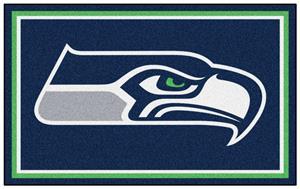 Fan Mats NFL Seattle Seahawks 4x6 Rug