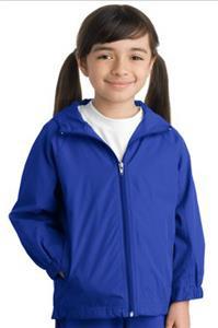 Sport-Tek Youth Hooded Raglan Jacket