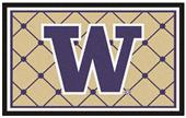 Fan Mats NCAA University of Washington 4x6 Rug