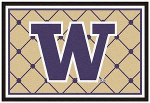 Fan Mats NCAA University of Washington 5x8 Rug
