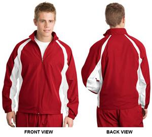 Sport-Tek Mens Performance Full-Zip Warm-Up Jacket