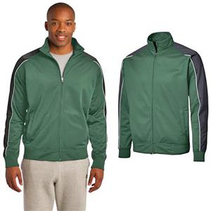 Sport-Tek Mens Piped Tricot Track Jacket