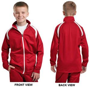 Sport-Tek Youth Tricot Track Jacket