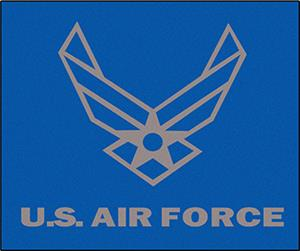 Fan Mats United States Air Force Tailgater Mat