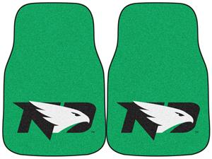 Fan Mats North Dakota Carpet Car Mats (set)