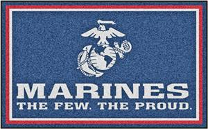 Fan Mats United States Marines 4x6 Rug