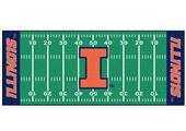 Fan Mats University of Illinois Football Runner