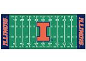 Fan Mats University of Illinois Football Runner