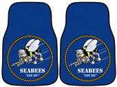 Fan Mats Navy Seabees Carpet Car Mats (set)