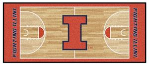 FanMats University of Illinois Basketball Runner