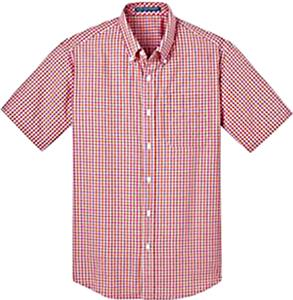 Port Authority Mens SS Gingham Easy Care Shirt