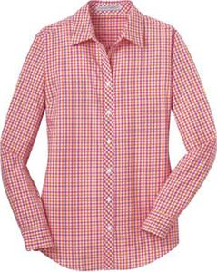 Port Authority Ladies Gingham Easy Care Shirt