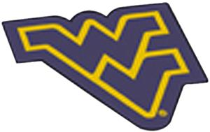 Fan Mats West Virginia University Mascot Mat
