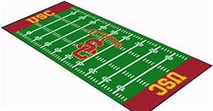 Fan Mats U. of Southern California Football Runner