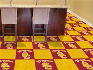 Univ. of Southern California Team Carpet Tiles