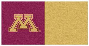 Fan Mats University of Minnesota Team Carpet Tiles