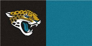 Fan Mats Jacksonville Jaguars Team Carpet Tiles