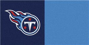 Fan Mats Tennessee Titans Team Carpet Tiles