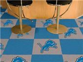Fan Mats Detroit Lions Team Carpet Tiles