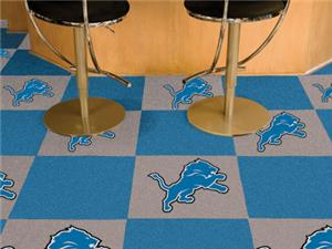 Fan Mats Detroit Lions Team Carpet Tiles