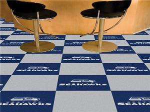 Fan Mats Seattle Seahawks Team Carpet Tiles