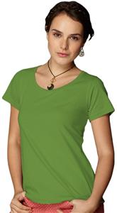 Anvil Women's Sheer Scoop Neck T-Shirts
