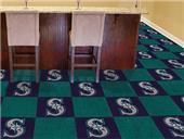 Fan Mats Seattle Mariners Team Carpet Tiles