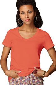 Anvil Women's Sheer V-Neck T-Shirts