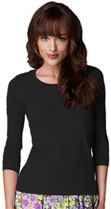 Anvil Women's Long Sleeve Sheer Scoop Neck T-Shirt