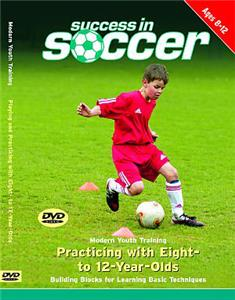 Modern Youth Training Soccer DVD 8-12 yrs. Old