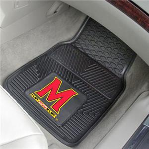Fan Mats University of Maryland 2-Piece Car Mat