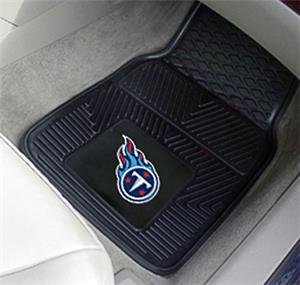 Fan Mats Tennessee Titans 2-Piece Car Mat