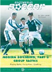 Soccer DVD Defending Part 2 Group Tactics