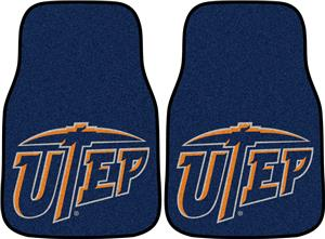 Fan Mats Univ. of Texas - El Paso Carpet Car Mat