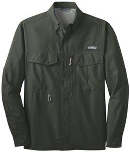 Eddie Bauer Mens LS Performance Fishing Shirt