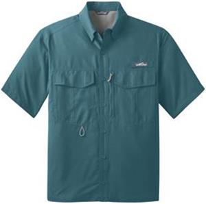 Eddie Bauer Mens SS Performance Fishing Shirt