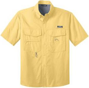 Eddie Bauer Mens Short Sleeve Fishing Shirt