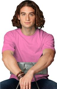 Anvil Pink Breast Cancer Heavyweight Men's T-Shirt