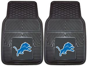 Fan Mats NFL Detroit Lions Car Mats (set)