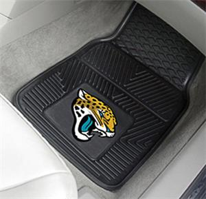 Fan Mats Jacksonville Jaguars 2-Piece Car Mat