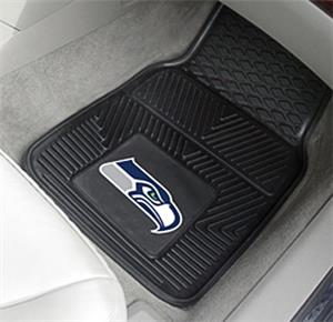 Fan Mats Seattle Seahawks 2-Piece Car Mat