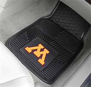 Fan Mats University of Minnesota 2-Piece Car Mat