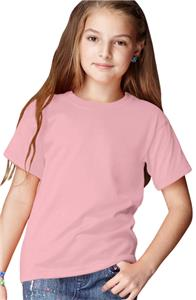 Anvil Pink Breast Cancer Heavyweight Youth T-Shirt